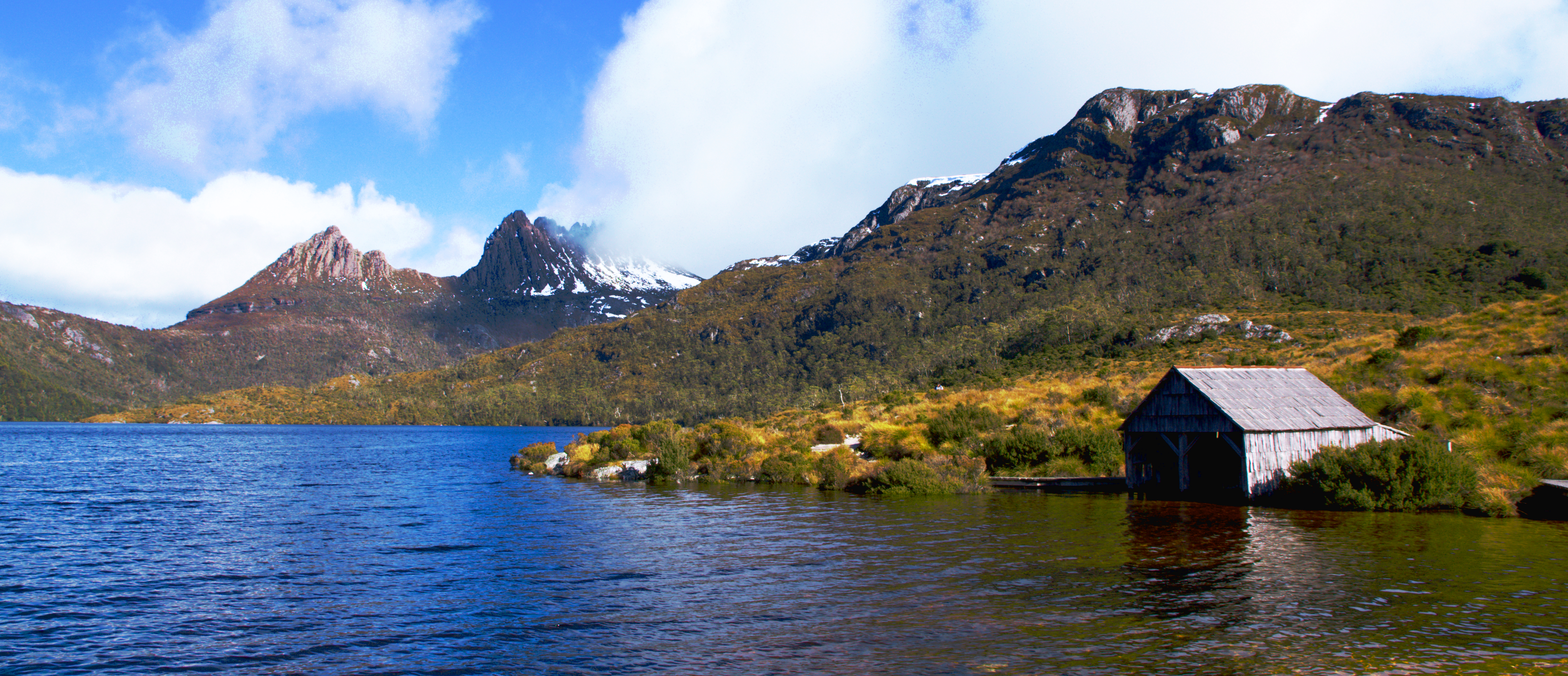 Boat Shed at Cradle Mountain