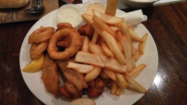Fresh Seafood and Chips