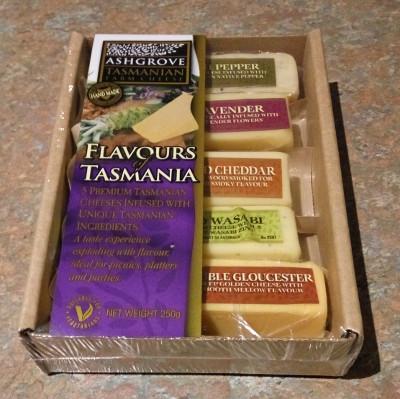 Cheese sampler from Ashgrove Farm
