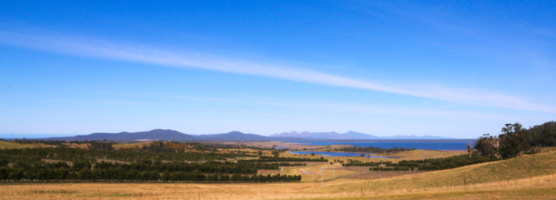 Views of Freycinet Peninsula from Devil's Corner