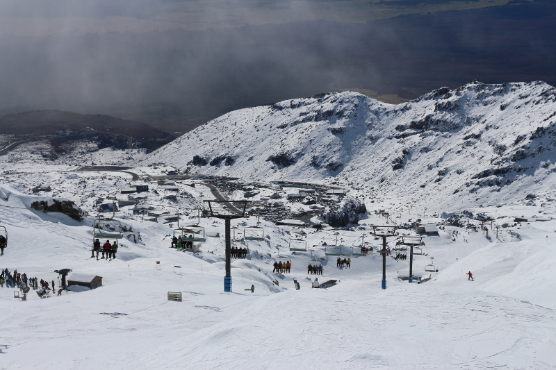 Fancy going up to NZ's highest Cafe - RIdge Knoll Cafe on a chairlift?
