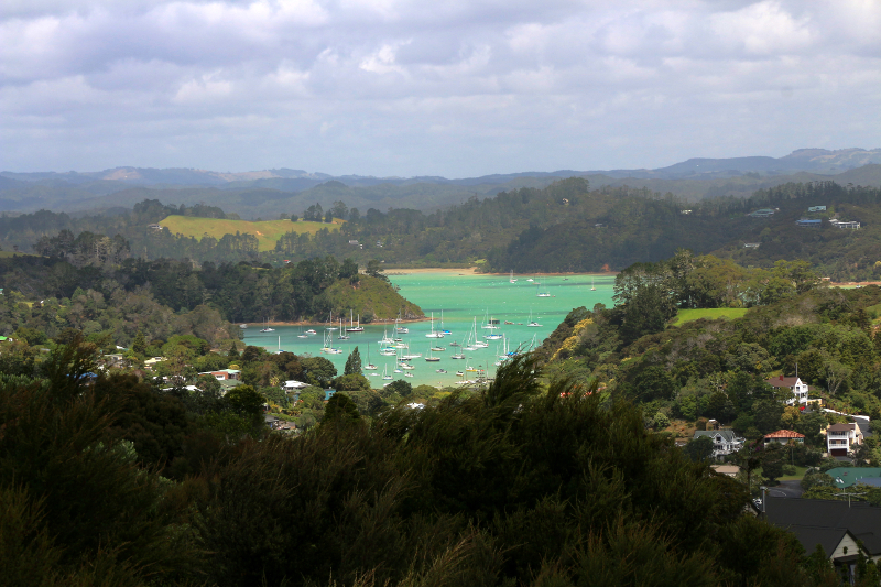 Russell is just a short ferry ride away from Opua.