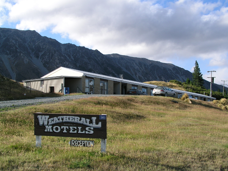 The Weatherall Motels - a Lost Gem of Lake Ohau