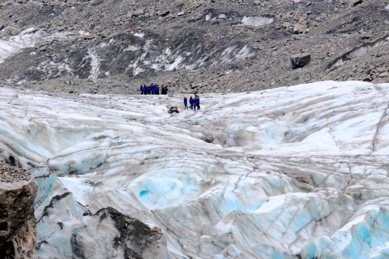 Fancy a hike on the Fox Glacier?