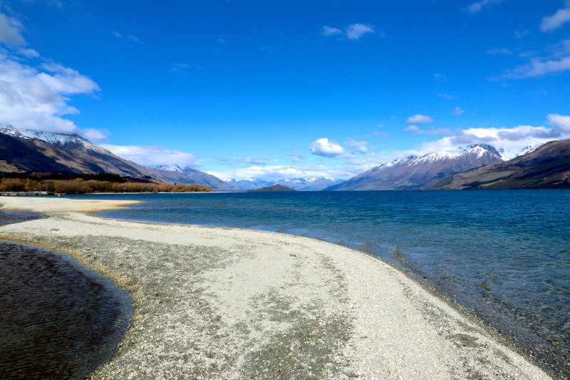 Expansive views of Lake Wakatipu at Glenorchy
