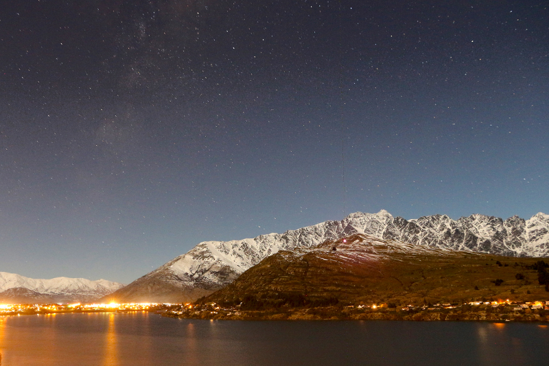 Queenstown, at any given time of the day, is beautiful.