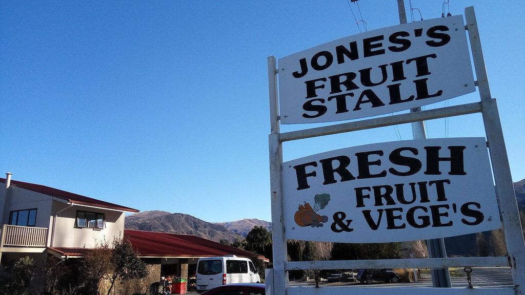 Jones Family Fruit Stall