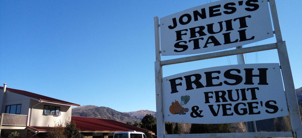 Jones Family Fruit Stall